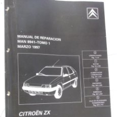Coches y Motocicletas: MANUAL DE TALLER CITROËN ZX. Lote 36379056