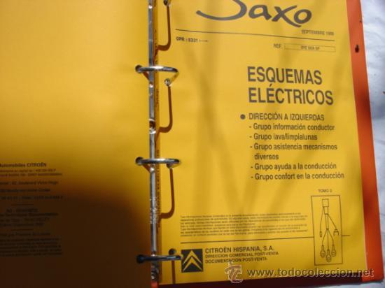manual de taller citro n saxo 7 tomos comprar cat logos rh todocoleccion net manual de taller citroen saxo 1.5d manual de taller citroen saxo 1.5d