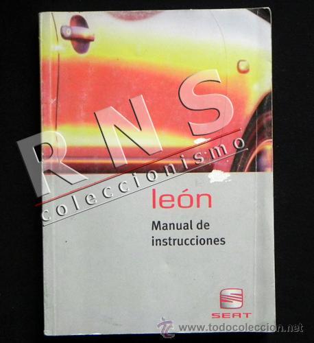 manual de instrucciones del seat le n coche m comprar cat logos rh todocoleccion net manual de instrucciones seat leon 1.9 tdi manual de instrucciones seat leon 2002