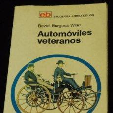 Coches y Motocicletas: AUTOMOVILES VETERANOS 1969. Lote 36526081