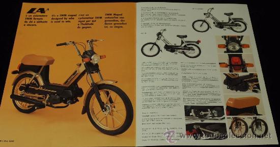 Swm Ciclomotor La Folleto Desplegable Original