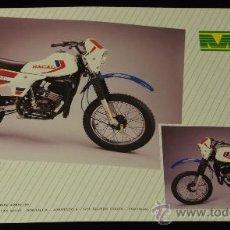 Coches y Motocicletas: MACAL CROSS JUNIOR. FOLLETO PUBLICITARIO ORIGINAL. Lote 36591468