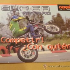 Coches y Motocicletas: FOLLETO (BROCHURE) MOTO SUPER MOTARD DERBI. Lote 36598762
