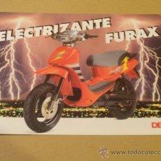 Coches y Motocicletas: FOLLETO (BROCHURE) MOTO DERBI FURAX. Lote 36599131