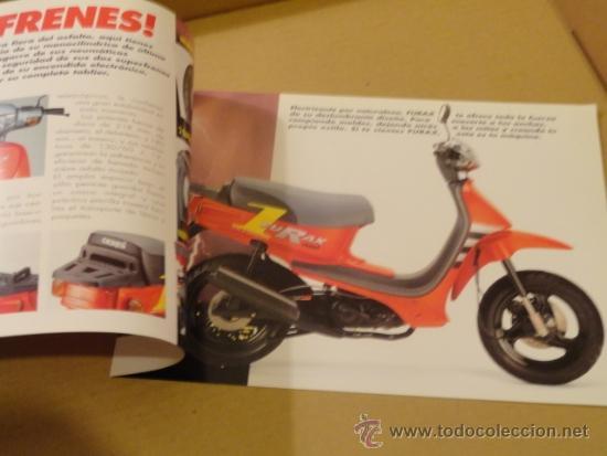 Coches y Motocicletas: FOLLETO (BROCHURE) MOTO DERBI FURAX - Foto 2 - 36599131