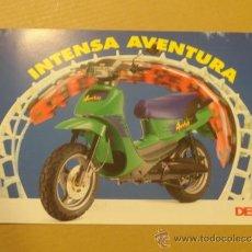 Coches y Motocicletas: FOLLETO (BROCHURE) MOTO DERBI AVENTURA. Lote 36599189