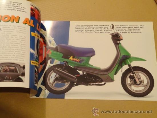 Coches y Motocicletas: FOLLETO (BROCHURE) MOTO DERBI AVENTURA - Foto 2 - 36599189