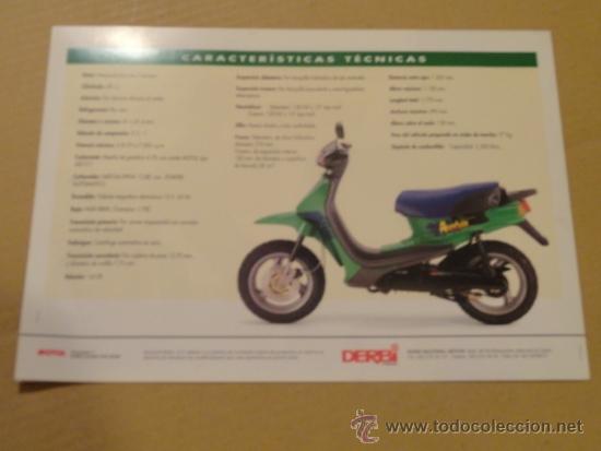 Coches y Motocicletas: FOLLETO (BROCHURE) MOTO DERBI AVENTURA - Foto 3 - 36599189