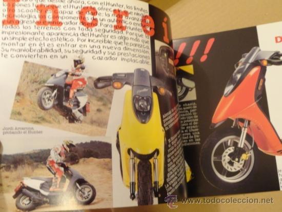 Coches y Motocicletas: FOLLETO (BROCHURE) MOTO DERBI HUNTER - Foto 2 - 36599445