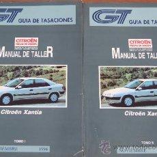 Coches y Motocicletas: CITROEN XANTIA MANUAL DE TALLER 1994 2 TOMOS. Lote 37006525