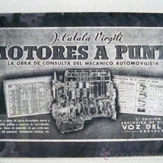 Coches y Motocicletas: MOTORES PUESTA A PUNTO.. Lote 36788437