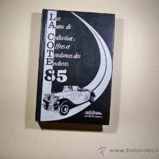 Coches y Motocicletas: COTIZACION DE COCHES DE COLECCION. Lote 37008510