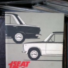 Coches y Motocicletas: MANUAL SEAT 124 - AÑO 1968. Lote 37158295
