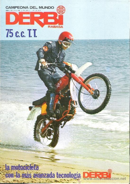 Catalogo original derbi 75 c c t t derbi tt comprar for Catalogo derbi