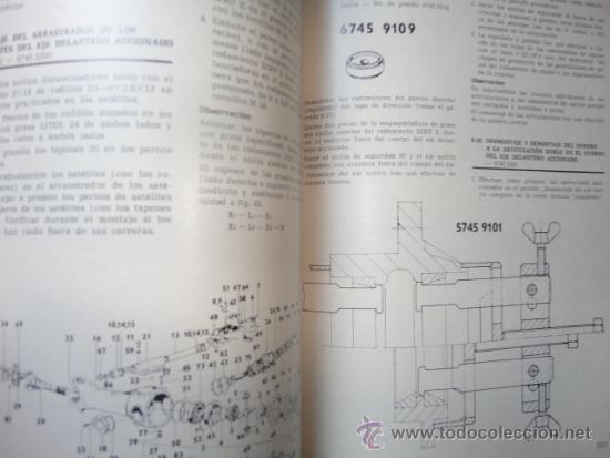 Libro manual taller original tractor agrozet ze - Sold