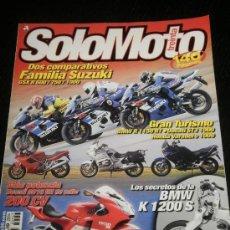 Coches y Motocicletas: SOLO MOTO 30 - Nº 257 - JUL 2004 - BMW R1150 RT / DUCATI ST3 / HONDA VARADERO / BMW K 1200S . Lote 37989892
