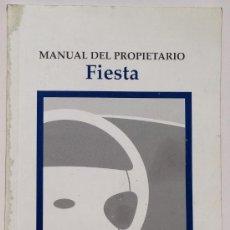 Coches y Motocicletas: FORD FIESTA - 2000 - TODA LA GAMA - MANUAL INSTRUCCIONES USUARIO, TEXTO EN ESPAÑOL.. Lote 38037723