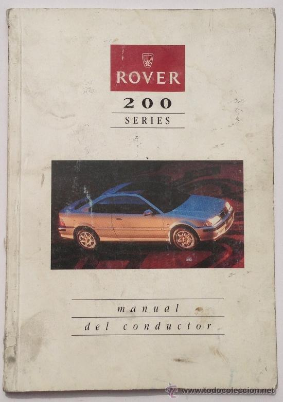 rover 200 series 1994 toda la gama manual comprar cat logos rh todocoleccion net rover 200 manual book rover 200 repair manual