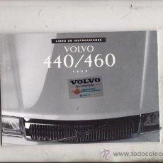 Coches y Motocicletas: LIBRO DE INSTRUCCIONES VOLVO 440/460 AÑO 1993 (ORIGINAL) IDIOMA ESPAÑOL. Lote 38128274