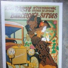 Coches y Motocicletas: CATALOGO MENU XXXI RALLYE INTERNACIONAL BARCELONA SITGES 1989 RF O1. Lote 38157493