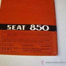Coches y Motocicletas: SEAT 850 USO Y ENTRENEMIENTO. Lote 38327679