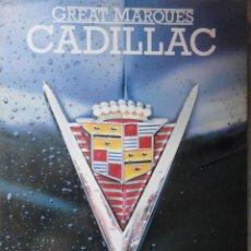 Coches y Motocicletas: LIBRO AUTOMOVIL GRANDES MARCAS CADILLAC ANDREW WHITE 1986. Lote 38370759