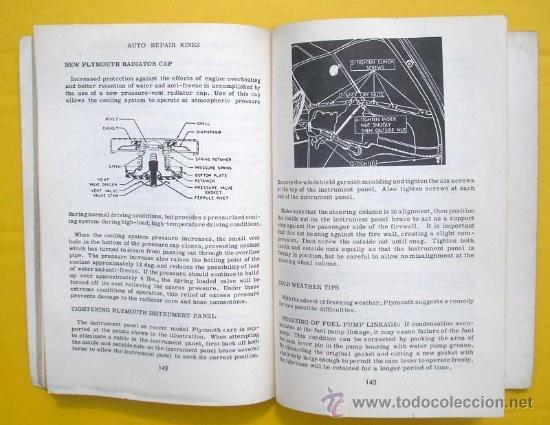 Coches y Motocicletas: MANUAL DE TALLER AMERICANO - AUTO REPAIR KINKS 1952 - VARIAS MARCAS - TEXTO EN INGLÉS - Foto 3 - 38384798
