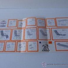 Coches y Motocicletas: CATALOGO DE MESAS Y SILLAS DE CRESPO. SUMINISTROS TRAMONTANA FIGUERES.. Lote 38394569