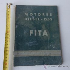 Voitures et Motocyclettes: MANUAL MOTOR FITA D 55 . Lote 39505308