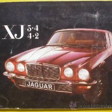 Coches y Motocicletas: MANUAL JAGUAR XJ - MODELOS 3.4 Y 4.2 CON ESQUEMA DE CABLEADO - 1975 - TEXTO EN FRANCÉS. Lote 38442156