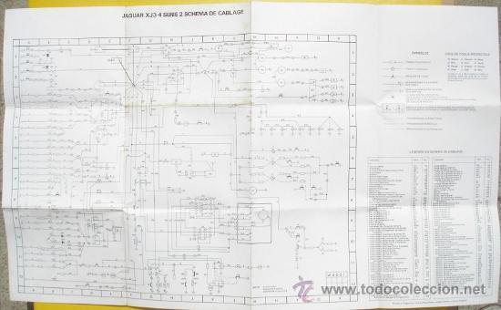 Coches y Motocicletas: MANUAL JAGUAR XJ - MODELOS 3.4 Y 4.2 CON ESQUEMA DE CABLEADO - 1975 - TEXTO EN FRANCÉS - Foto 4 - 38442156