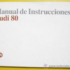 Coches y Motocicletas - MANUAL AUDI 80 - 1990 - TODOS LOS MODELOS - TEXTO EN ESPAÑOL - 38442563