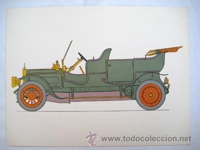 ALBION 1910 ESCOCIA. OLIVER GEORGE A.(DIBUJO) (Coches y Motocicletas Antiguas y Clásicas - Catálogos, Publicidad y Libros de mecánica)