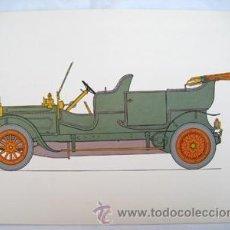 Coches y Motocicletas: ALBION 1910 ESCOCIA. OLIVER GEORGE A.(DIBUJO). Lote 38535932