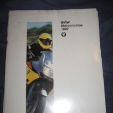 Coches y Motocicletas: QUEX MOTOS - CATALOGO DE COMPRA MOTOCICLETAS BMW 1997. Lote 38516703