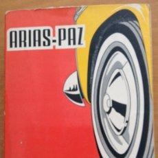 Coches y Motocicletas: ANTIGUO LIBRO ARIAS PAZ, MANUEL - MANUAL DE AUTOMÓVILES 38 EDICION - TDK151. Lote 38609636