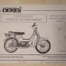 CATALOGO DESPIECE ORIGINAL MOTOCICLETA DERBI MODELOS VARIANT 1984