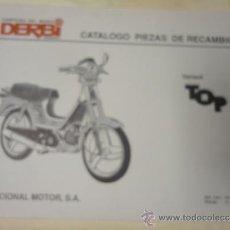 CATALOGO DESPIECE ORIGINAL MOTOCICLETA DERBI MODELO VARIANT TOP 1992