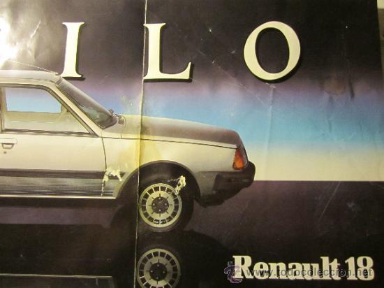 CATALOGO RENAULT 18 (Coches y Motocicletas Antiguas y Clásicas - Catálogos, Publicidad y Libros de mecánica)