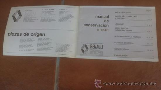 Coches y Motocicletas: manual conduccion y entretenimiento renault 5 tl 1ª edicion española - Foto 3 - 39161553