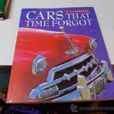 Coches y Motocicletas: CARS THAT TIME FORGOT GILES CHAPMAN, EN INGLÉS, TAPA BLANDA 96 PAG. PARRAGÓN 1998 MIDE 29X23CM.. Lote 39157304