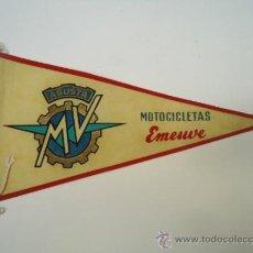 Coches y Motocicletas: BANDERIN MOTOCICLETAS MOTO EMEUVE AUGUSTA MV. Lote 39261928