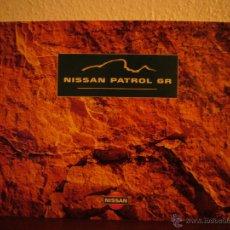 Coches y Motocicletas: CATALOGO PUBLICITARIO NISSAN PATROL GR 1999 (ESPAÑOL). Lote 39477063