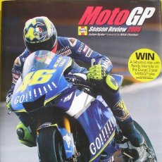Coches y Motocicletas: MOTO GP SEASON REVIEW 2005 - PRODUCTO CON LICENCIA OFICIAL MOTO GP - TEXTO EN INGLÉS. Lote 39664081