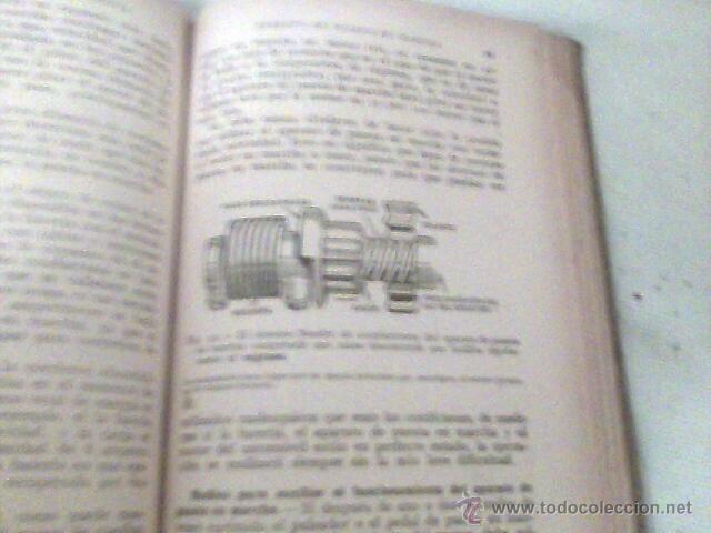 Coches y Motocicletas: ANTIGUO LIBRO - EQUIPO ELECTRICO DEL AUTOMOVIL - MANUAL PRACTICO ILUSTRADO - 1939 -102 GRABADOS - Foto 9 - 39668583