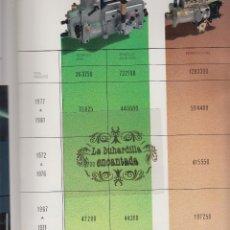 Coches y Motocicletas: CATALOGO DE TALLER CAV CONDIESEL - PRESENTACIÓN DE LA EMPRESA - SIN DATAR, ALTISIMA CALIDAD DE PAPE. Lote 39686633