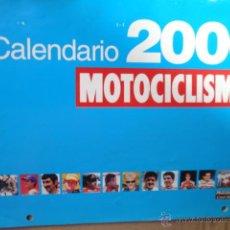 Coches y Motocicletas: CALENDARIO MOTOCICLISMO AÑO 2000. Lote 39704560