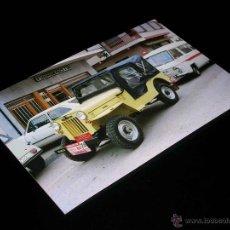 Coches y Motocicletas: FOTOGRAFÍA JEEP EBRO BRAVO S, ORIGINAL VUELTA CICLISTA A ESPAÑA 1978. TAMAÑO 10 X 15 CMS.. Lote 54469182