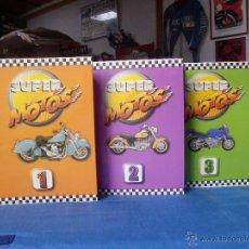 Coches y Motocicletas: SUPER MOTO 3 VOLUMENES FICHAS EXTRAIBLES MOTOS Y PILOTOS VER FOTOS- 250 FICHAS .. Lote 39904390