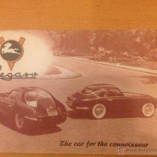 Coches y Motocicletas: PEGASO Z-102 CATALOGO ORIGINAL 1954 INGLES. Lote 39981055